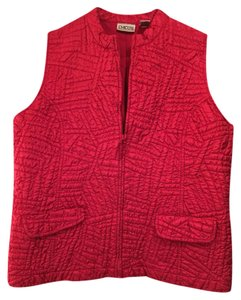 Chico's Pink Quilted Vest