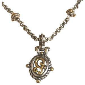 Brighton Scroll Repousse Pendant Necklace