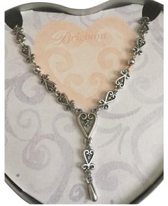 Brighton Florence Collection Heart Lace Retired Necklace