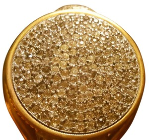 Other FRENCH ANTIQUE Compact PowderBRACELET with Rhinestones and Marcasite