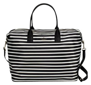 Kate Spade BLACK/ CRM Travel Bag