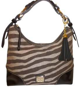Dooney & Bourke Refurbished Medium Lined Patent Leather Hobo Bag