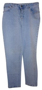 Faded Glory Straight Leg Jeans-Light Wash