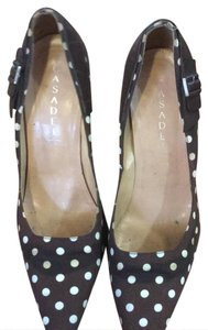 Casadei brown and white Pumps