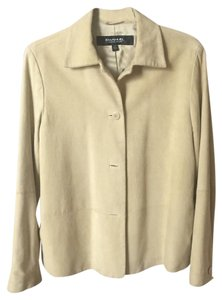 Emanuel Ungaro light camel suede Leather Jacket