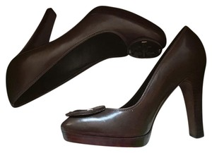 Tory Burch chocolate brown Pumps
