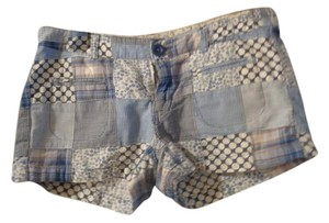 Arizona Jean Company Mini/Short Shorts blue plaid
