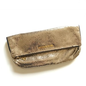 Victoria's Secret gold Clutch