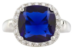 Other ** NWT ** 5.00 CT BLUE SAPPHIRE RING