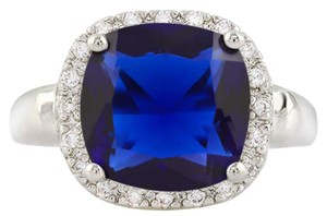 Other ** NWT ** DARK BLUE SAPPHIRE ( 5.35 CT ) RING