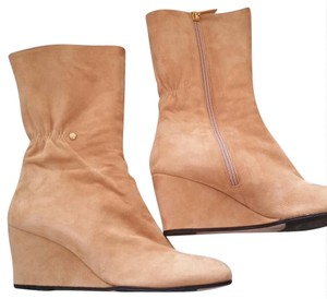 Taryn Rose Light camel suede Boots