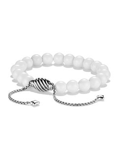 David Yurman Spiritual Bead Bracelet with White Agate