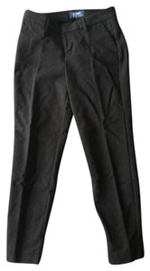 Old Navy Gap Cropped Cigarette Capri Capri/Cropped Pants Black