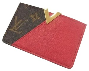 Louis Vuitton Monogram Cerise Kimono Business Card Holder
