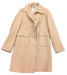 J.Crew Camel/nude Trench Trench Coat