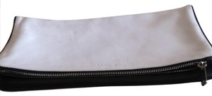 L.K. Bennett black & white Clutch