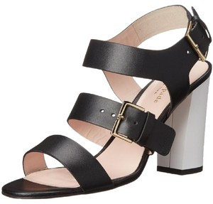 Kate Spade Buckel Heels Italian black Sandals
