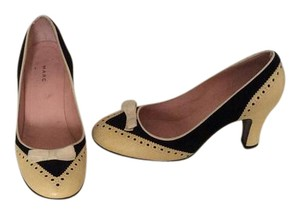 Marc by Marc Jacobs Black and cream Pumps