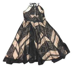 Tracy Reese Lace Over Fabric Dress