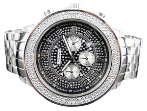 JoJino Jojino/Joe Rodeo Aqua Master Chrono Metal Band Diamond Watch Mj-1190