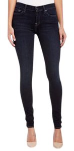 7 For All Mankind Denim Skinny Skinny Jeans-Dark Rinse