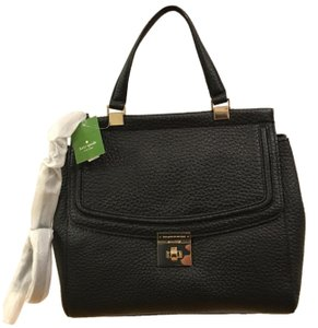 Kate Spade Tallulah Everett Way Satchel in Black