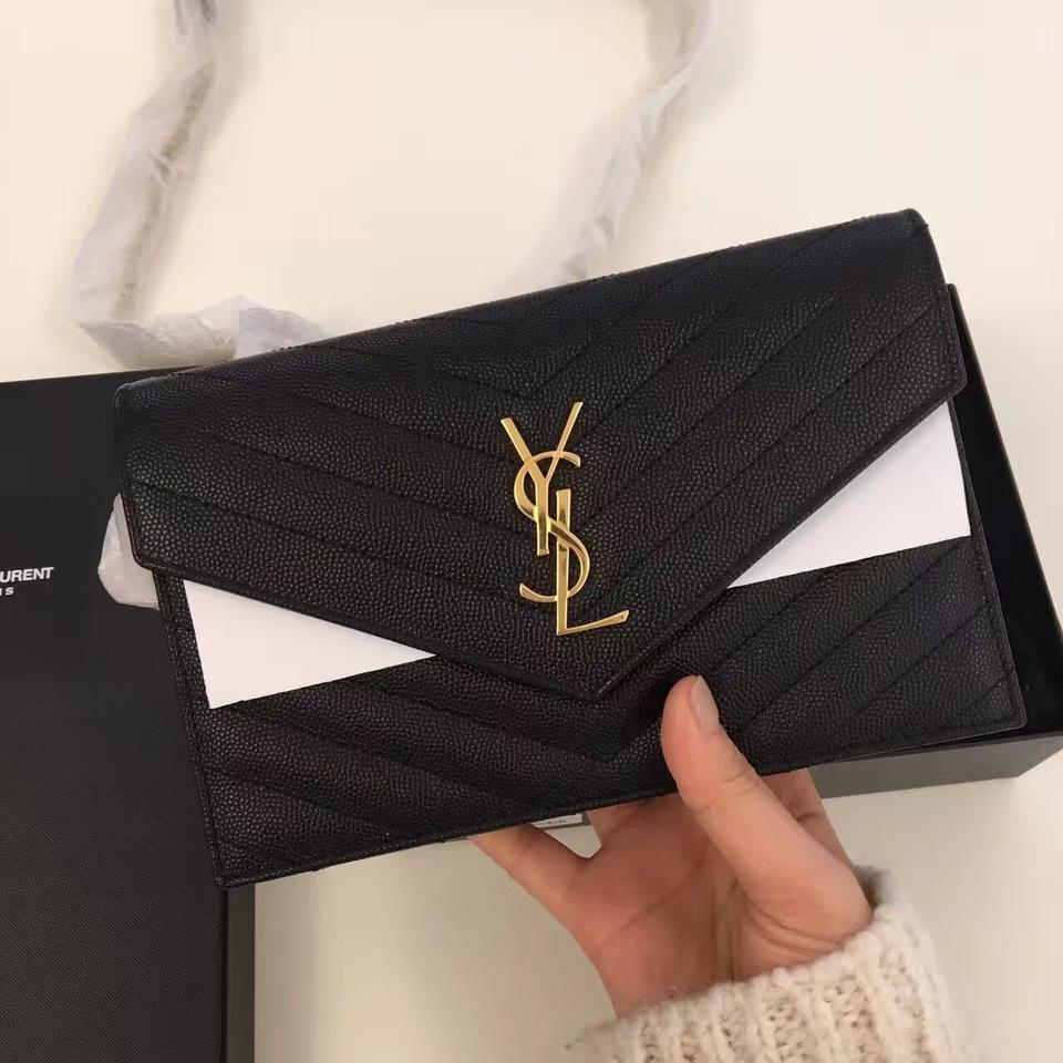 Ysl Monogram Chain Wallet Gold Jaguar Clubs Of North America