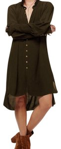 Free People short dress Olive on Tradesy