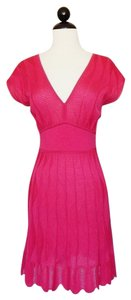 M Missoni short dress Pink Knit Stretchy Summer on Tradesy