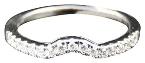 Other 14K WHITE GOLD DIAMOND ENGAGEMENT WEDDING ENHANCER BAND RING