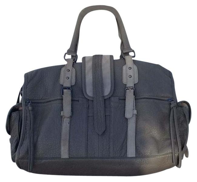 Item - Gray Pebbled Leather Tote