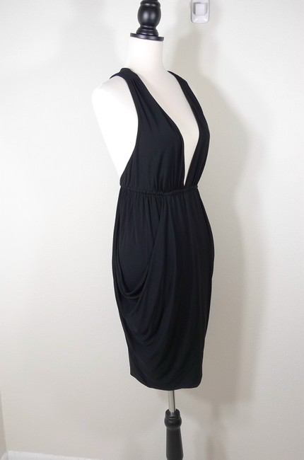 7 For All Mankind Ruched Racer Dress Image 1