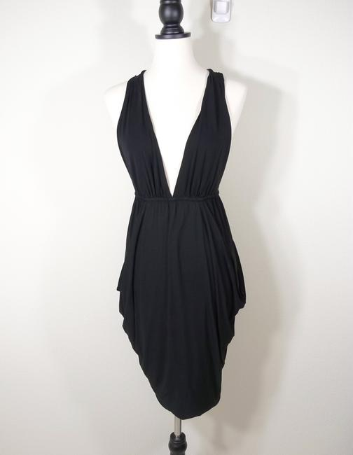 7 For All Mankind Ruched Racer Dress Image 2