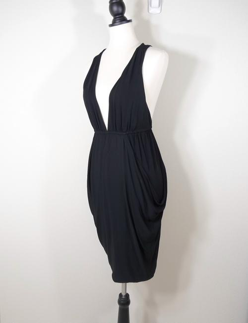 7 For All Mankind Ruched Racer Dress Image 3