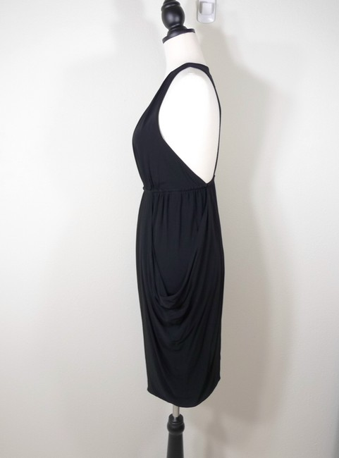 7 For All Mankind Ruched Racer Dress Image 4