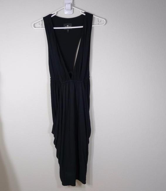 7 For All Mankind Ruched Racer Dress Image 5