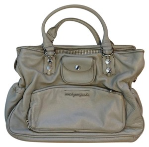 Marc by Marc Jacobs Leather Tote in Grey
