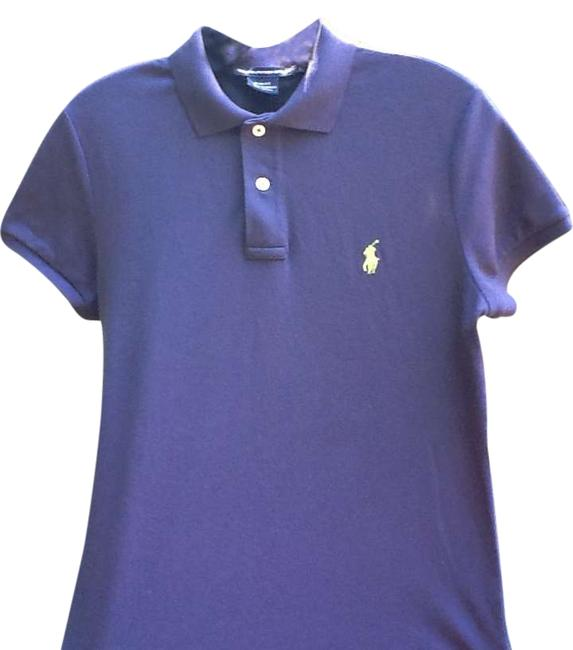 Ralph Lauren Polo Pony Polo M L T Shirt Light Navy