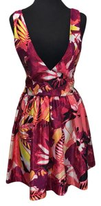 Romeo & Juliet Couture short dress White/red/yellow/black/pink/purple on Tradesy
