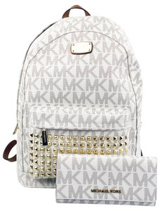 Michael Kors Studded Wallet Backpack