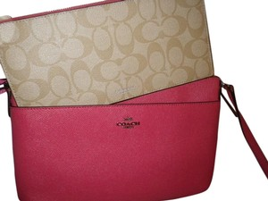Coach F57788 Brand New 2 In 1 Leather Cross Body Bag