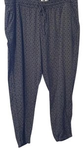 Old Navy Baggy Pants Black Print