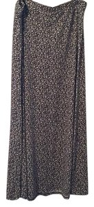 Mossimo Supply Co. Maxi Skirt Grey, flowered, print