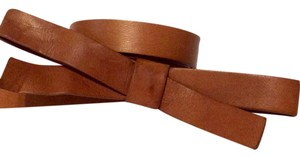 Kate Spade leather bow belt
