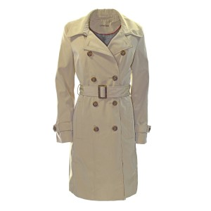 Calvin Klein Trench Water-resistant Pre-owned Trench Coat