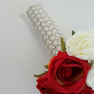 Brand New Bodywerk Jeweled Bouquet Holder