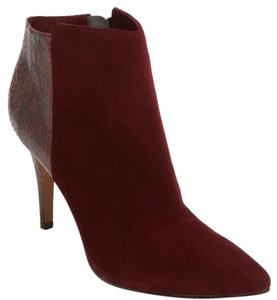 Rosegold Shoes deep burgundy berry Boots