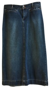 Old Navy Jean Maxi Skirt Denim