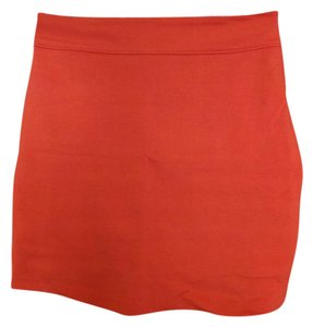 Silence + Noise Mini Skirt Orange