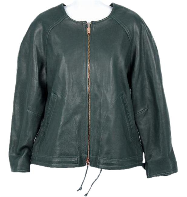 Item - Green Collection Collarless B9872 Jacket Size 12 (L)